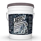3 Part EPOXY Mortar Patching System - Contains Resin, Hardener & Aggregate. Fills Cracks, Holes, Pits & More! Bonds to Concrete, Asphalt, Wood & Metal. (25 lb Pail)