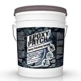 3 Part EPOXY Mortar Patching System - Contains Resin, Hardener & Aggregate. Fills Cracks, Holes, Pits & More! Bonds to Concrete, Asphalt, Wood & Metal. (50 lb Pail)