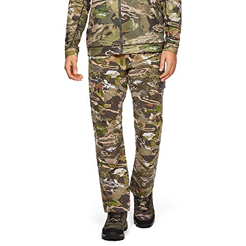 Under Armour Men's Field Ops Pants, USA Forest Camo, 34/32