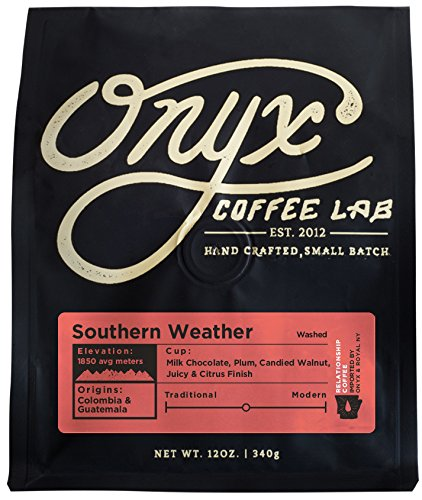 hern Weather, Medium Roast, Whole Bean Coffee, 12-Ounce Bag (Onyx Lab)
