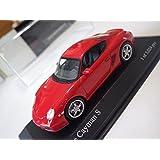 Minichamps Paul's Model Art Red Porsche Cayman S 2005 Diecast 1:43 NIB