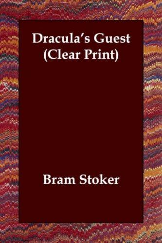 Read Online Dracula's Guest (Clear Print) pdf
