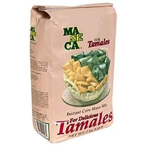 Amazon.com : Maseca Instant Corn Masa Mix for Tamales, 4.4