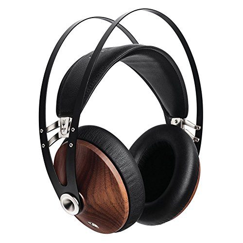 Silver Headphones Headphones (Meze 99 Classics Walnut Silver Headphones (Silver Black))