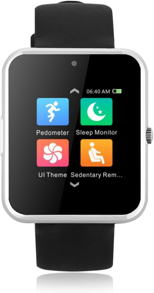 Haier V1 – Smartwatch inteligente Bluetooth pantalla 1,54 pulgadas podómetro/monitor cardíaco/cámara 0,3 MP – Compatible con Smartphones iOS y Smartphone Android: Amazon.es: Electrónica
