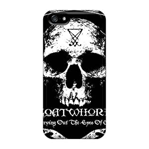Perfect Hard Phone Cover For Iphone 5/5s (gRV10982sqzv) Unique Design Trendy God Forbid Band Skin