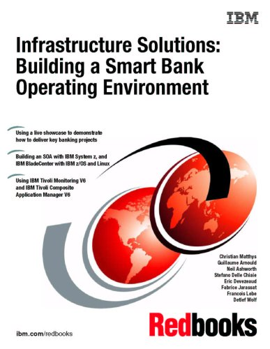 Download Infrastructure Solutions: Building a Smart Bank Operating Environment ebook