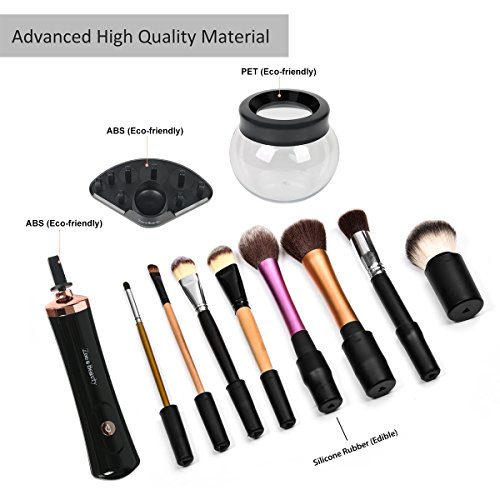 Zoe'Beauty Makeup Brush Cleaner & Dryer Kit Upgraded,The Best Portable  Electronic Automatic Makeup Brush Cleaner, Cleans and Dries Makeup Brushes  in