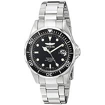 Invicta 8932 - Reloj unisex color negro / plateado