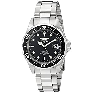 Invicta Men's 'Pro Diver' Quartz Stainless Steel Diving Watch, Color:Silver-Toned (Model: INVICTA-8932)