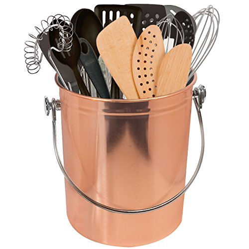 Sorbus Utensil Holder Caddy Crock to Organize Kitchen Tools