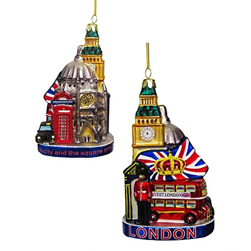 Kurt Adler 5.25In Glass London Cityscape Ornament (Christmas Ideas London)