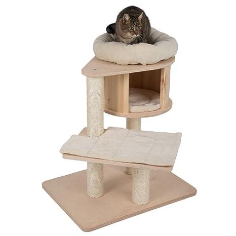 Mini Árbol de gato con postes rascadores