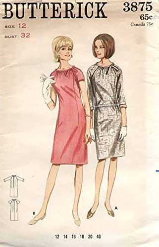 1960s crochet dress pattern - 6
