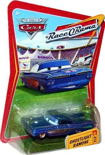 GHOSTLIGHT RAMONE #14 Disney / Pixar CARS 1:55 Scale THE WORLD OF CARS RACE-O-RAMA Die-Cast (Race O-rama Radiator Springs)