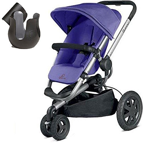 Quinny CV268CKUK10- Buzz Xtra Stroller With Cup Holder- Purple Pace