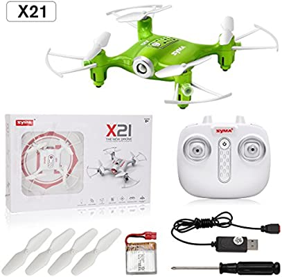 DoDoeleph Mini RC Quadcopter Syma X21 2.4G 4 CH Nano Drone con ...