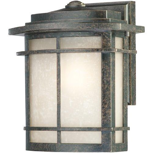 Quoizel GLN8409IB 1-Light Galen Outdoor Lantern in Imperial Bronze