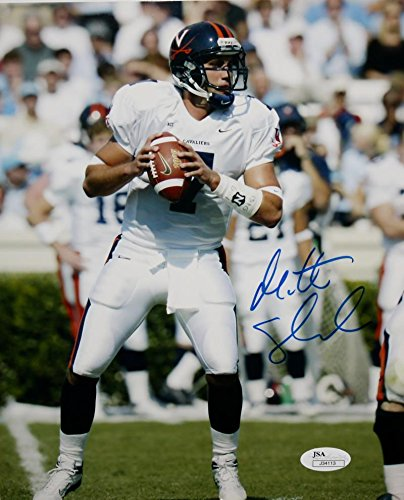 Autographed Matt Schaub Photograph - 8x10 Passing - JSA Certified - Autographed College Photos