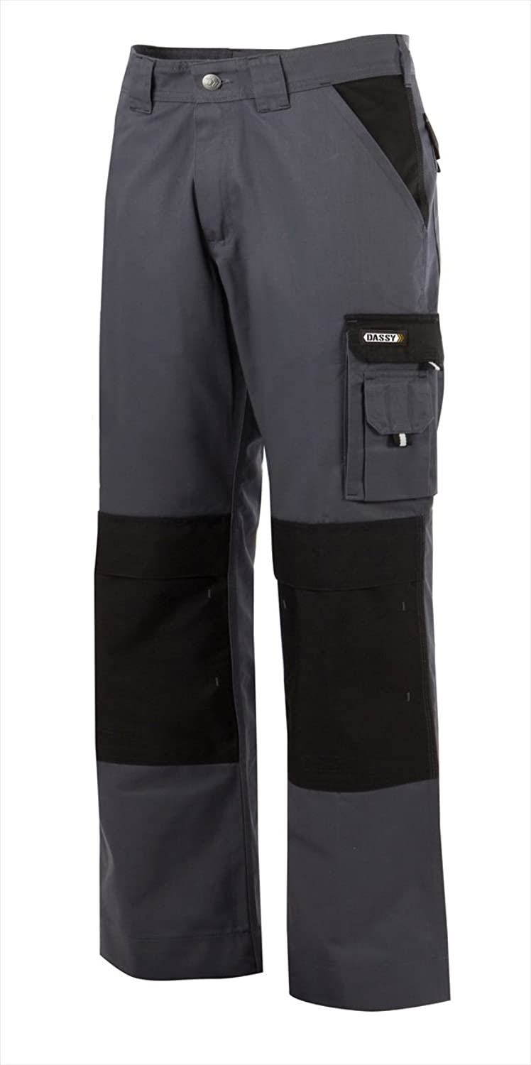 (38)DASSY TROUSER BOSTON PESCO61 (245 gr) GREY/BLACK
