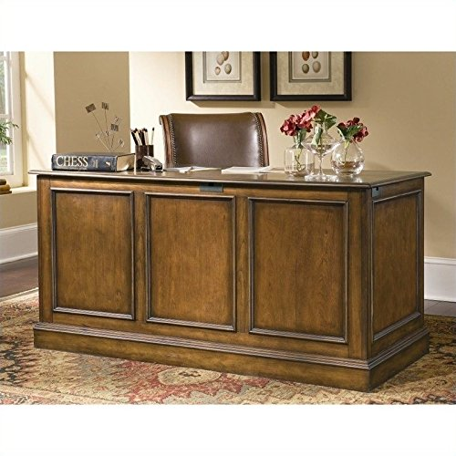 Hooker Furniture Brookhaven Drawer Desk in Distressed Cherry ()