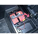Polaris RZR Battery Tray by Extreme Metal Products 10108