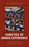 Varieties of Urban Experience, , 0761833862