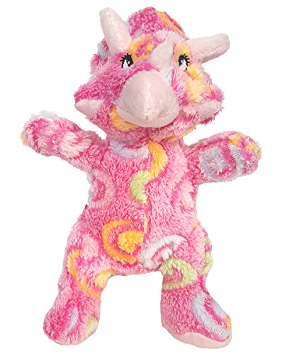 Cuddly Soft 8 inch Stuffed Kaledio Pink Triceratops ...We stuff 'em...you love 'em! from Stuffems Toy Shop