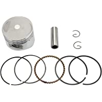 GOOFIT 54mm Piston Assembly Kit for 125cc ATV