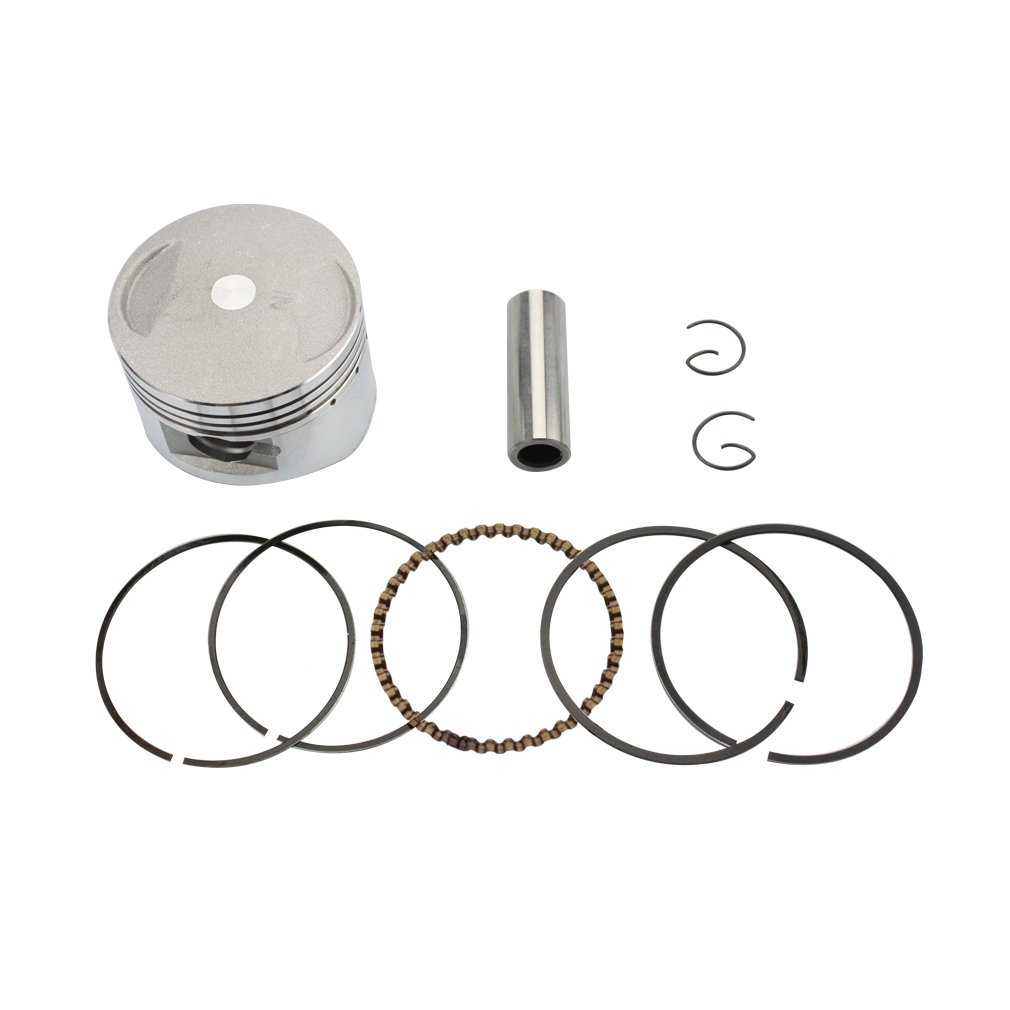 GOOFIT 54mm Piston Assembly Kit for 125cc ATV Dirt Bike Go Kart Engine Part by GOOFIT