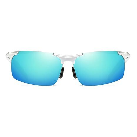 LX-LSX Nuevas Gafas de Sol polarizadas de magnesio de Aluminio Hombres Gafas de Sol