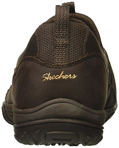 Skechers Women's Empress Lets Be Real Sneaker Chocolate PCDPop71
