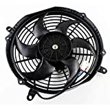 Radiator Cooling Fan For Yamaha YXR Rhino 450 660 2004 2005 2006 2007 2008 2009 OEM Repl.# 5UG-E2405-00-00