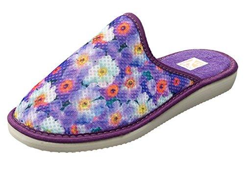 Slippers Thermal Ladies 2 Women Purple Bosaco House Foam Memory xwCAnSHX
