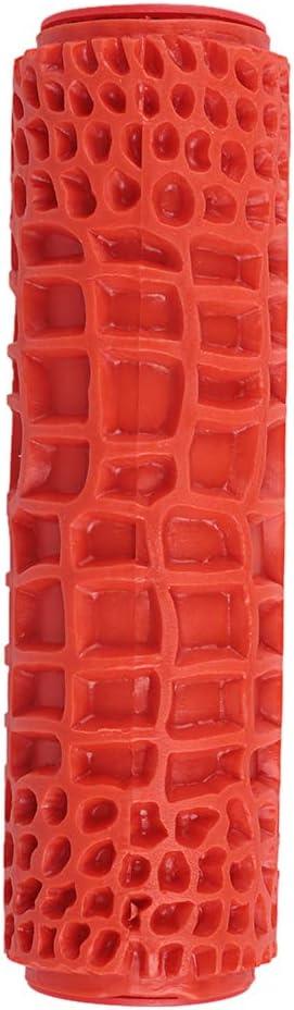 Alivier Rodillo de pintura en relieve Rodillo de pintura de patr/ón de ladrillo de 7 pulgadas con mango de pl/ástico para decoraci/ón de paredes