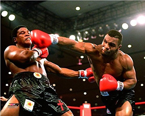 Mike Tyson vs Trevor Berbick 1986 WBC Title Fight Photo (11 x 14) by Mike Tyson