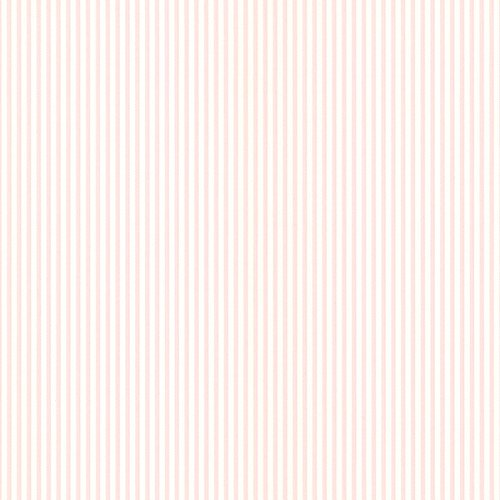Manhattan Comfort NWPR33803 Spokane Vinyl Thin Spotted Stripe Wallpaper, Pink ()