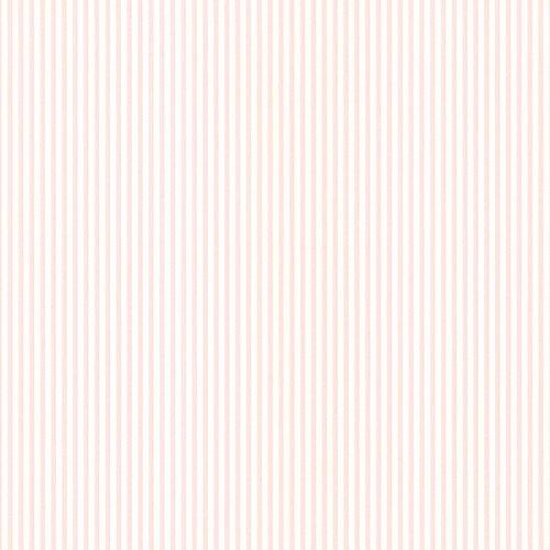 Manhattan Comfort NWPR33803 Spokane Vinyl Thin Spotted Stripe Wallpaper, Pink