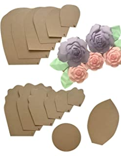 Amazon Com Giant Paper Flower Template Buy One Get One Free