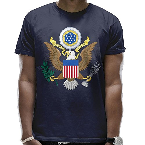 Men's Great Seal of The United States Cool Short Sleeve ()