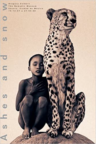 Gregory Colbert-Child with Cheetah Mexico City-2007 Poster