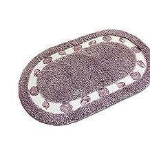 Lopkey Mats Fashion Bedroom Door Carpet Rugs Purple