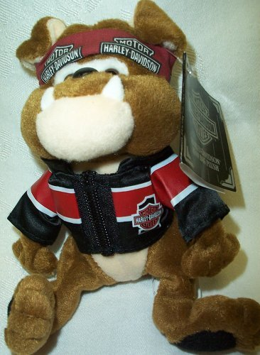 Harley Davidson Bean Bag Plush Tanker