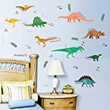 Dinosaurs Plant Wall Sticker Decal Home Decor PVC Murals Wallpaper House Art Picture Living Room Adult Senior Teen Kids Baby Bedroom Decoration