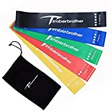 Timberbrother Resistance Loop Bands – Exercise Bands Set of 5 for Crossfit Workout and Physical Training (Standard) Review