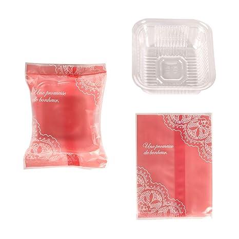 Amazon.com: Bolsas de plástico para tartas, 1.76 oz/2.82 oz ...