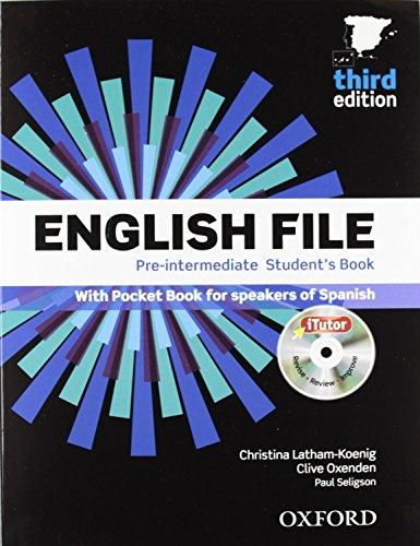 English File Pre-intermediate Studentžs Book + Printed Workbook With Key + Online Skills Practice, 3 Edition