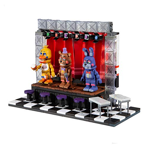 McFarlane Toys Five Nights at Freddy's Deluxe Concert Stage Large Construction Set