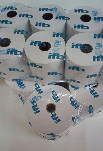 Papel electra 76,5 mm X 65 mts. Blanco para impresora de ...