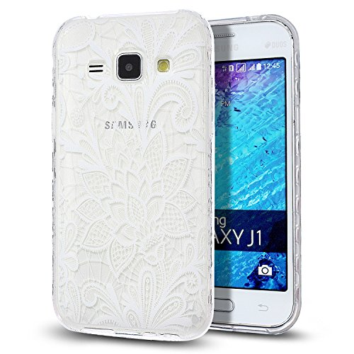 Slim Shockproof Case for Samsung Galaxy J1 (White) - 5